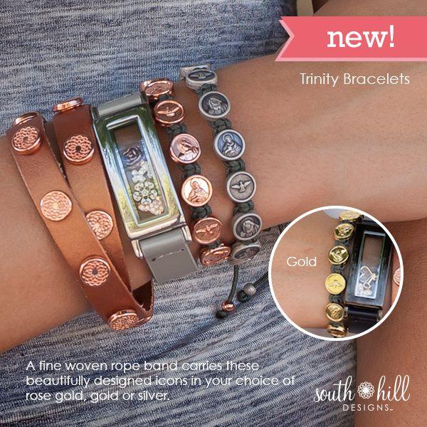"""New! Beautiful """"Trinity"""" wraps from South Hill Designs. www.gocharmit.com"""