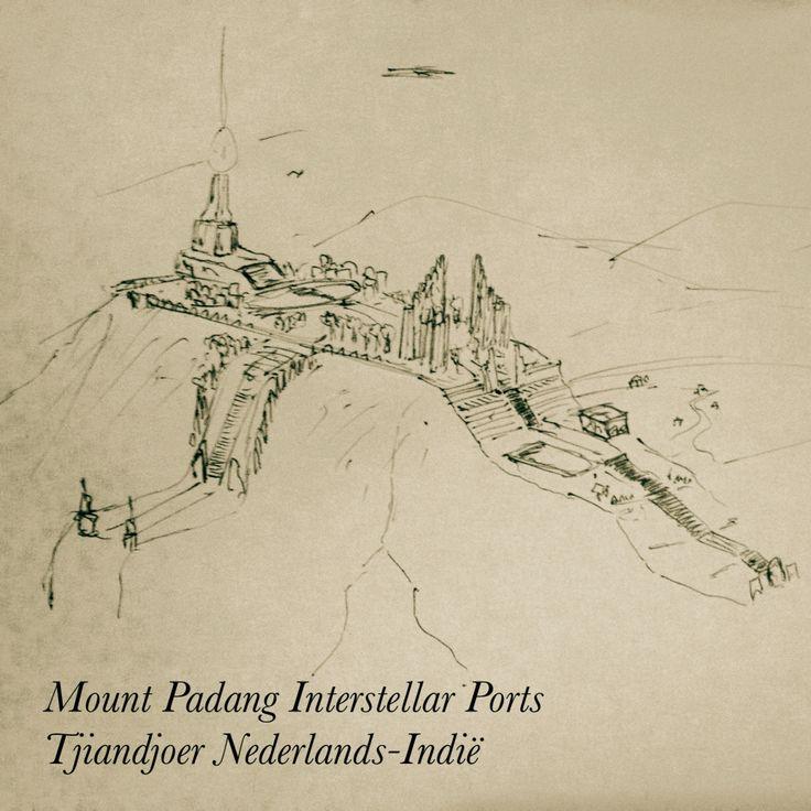Apa jadinya kalau kisahnya begini: Situs Megalitikum Gunung Padang dulunya adalah pelabuhan antar bintang  #movie