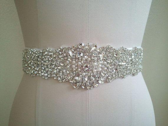 Hey, I found this really awesome Etsy listing at https://www.etsy.com/listing/194605498/sample-sale-wedding-belt-bridal-sash