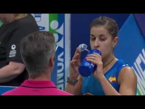 [HD] SF - 2015 Yonex Denmark Open - P. V. Sindhu vs Carolina Marin