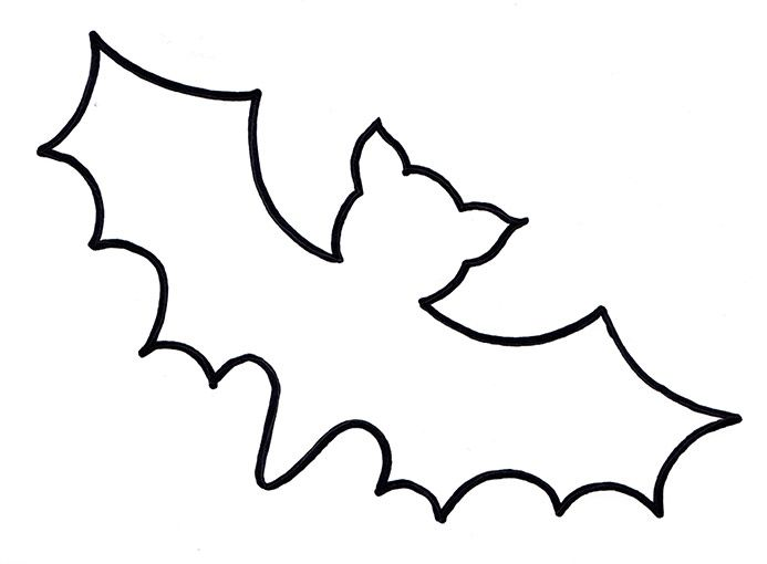 Fledermaus Vorlage Xobbu Malvorlage  #halloween #kürbis #basteln #vorlage #printable #fledermaus #xobbu #gespenst #ghost  http://www.xobbu.com/halloween-basteln-vorlagen-ideen-zum-ausdrucken/