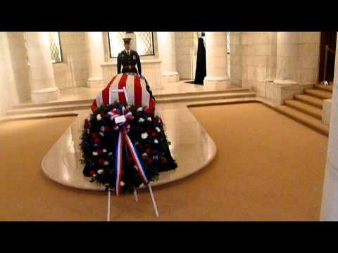 Frank Buckles Lying In Honor In The Memorial Amphitheater Chapel At Arlington National Cemetery - YouTube
