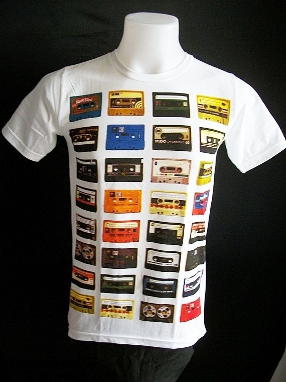 for Brian at 80's party: Remember Tape, Cassette Tapes, Color, Tape Records, 80S Party, Tapes T Shirts, Tape T Shirts, 80S Parties, Tape Cassette