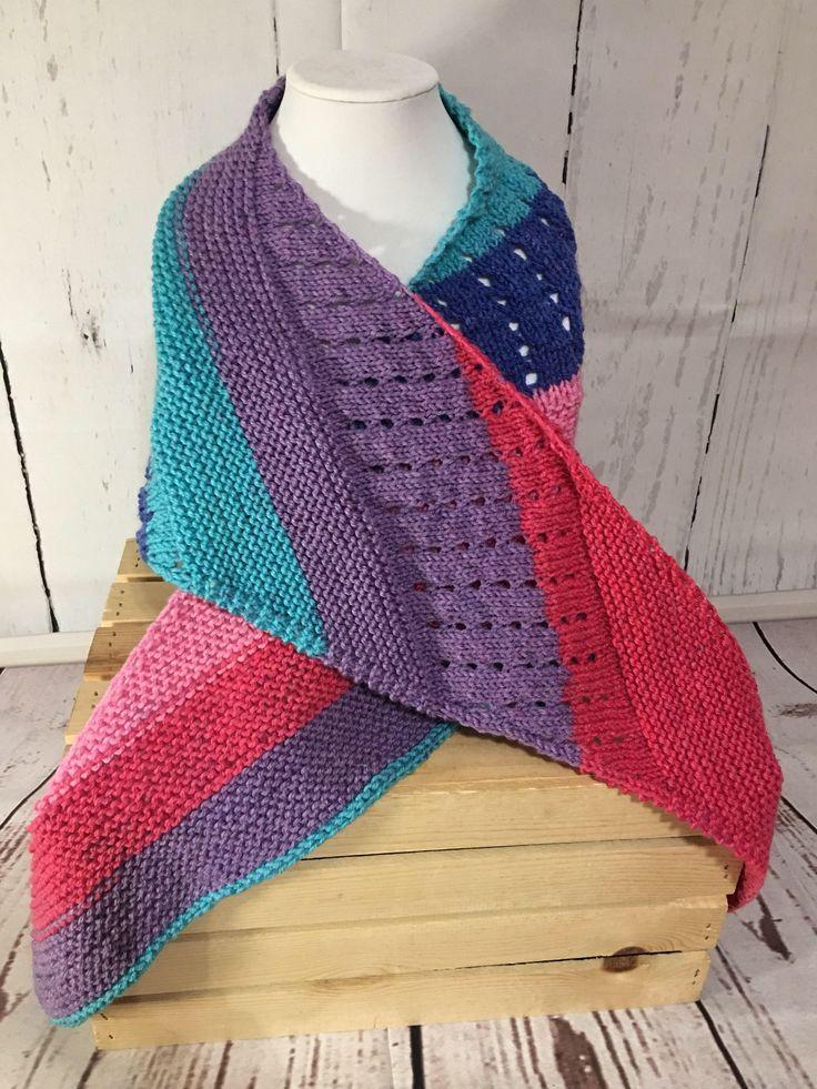 Shawl - Knit Shawl - Knit Wrap - Knit Scarf - Scarf - Wrap - Womens Scarf - Winter Shawl - Womens Shawl - Wrap Shawl - Winter Scarf - Knit by StephsFamilyStitches on Etsy https://www.etsy.com/ca/listing/563051014/shawl-knit-shawl-knit-wrap-knit-scarf