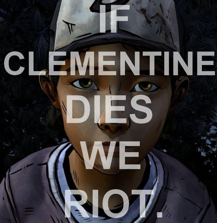 If Clementine dies we riot | The Walking Dead (Telltale Game) #MyClementine twdg