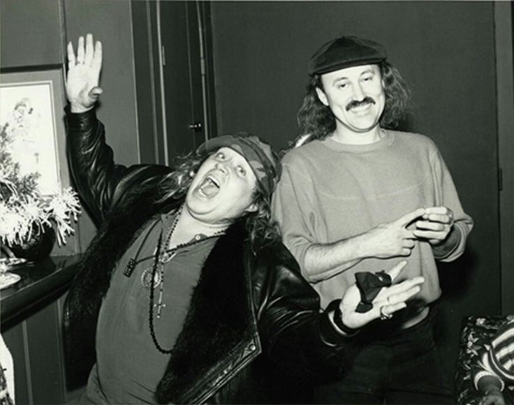 Sam Kinison and Gallagher - two of my all-time favorite stand-up comedians together