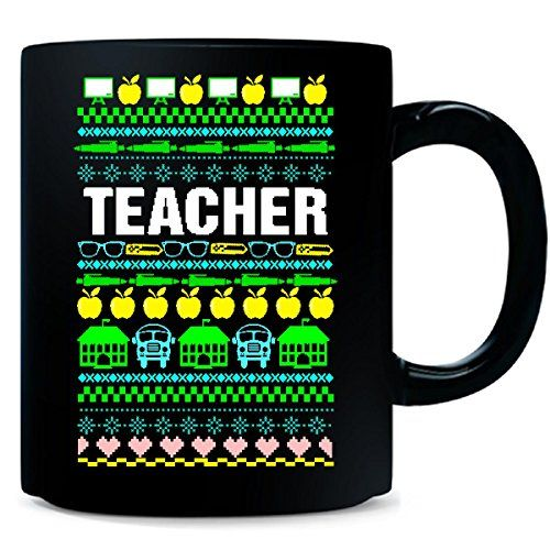 Teachers Ugly Christmas Sweater Best Teacher Gift - Mug Teachers Ugly Christmas Sweater Best Teacher Gift Microwave Safe, Hand Wash, Premium Full Color Custom Print! Perfect For All Hot and Cold Beverages Protective Packaging Used To Make Sure This Ceramic Mug Arrives In Perfect Condition https://food.boutiquecloset.com/product/teachers-ugly-christmas-sweater-best-teacher-gift-mug/