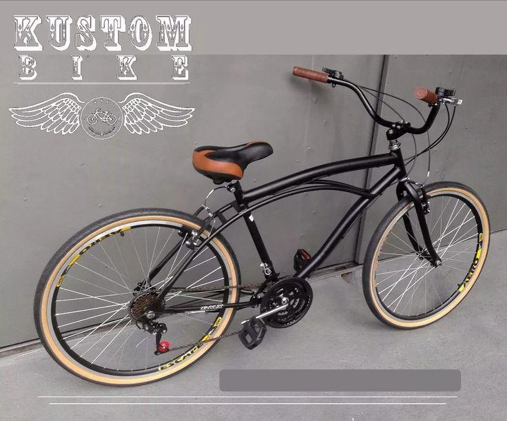 bicicleta retrô - beach bike caiçara antiga harley inspired