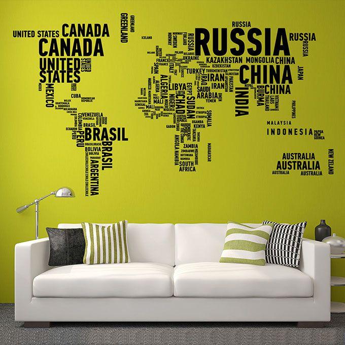 Необычные наклейки для стен! (Интернет-журнал ETODAY)