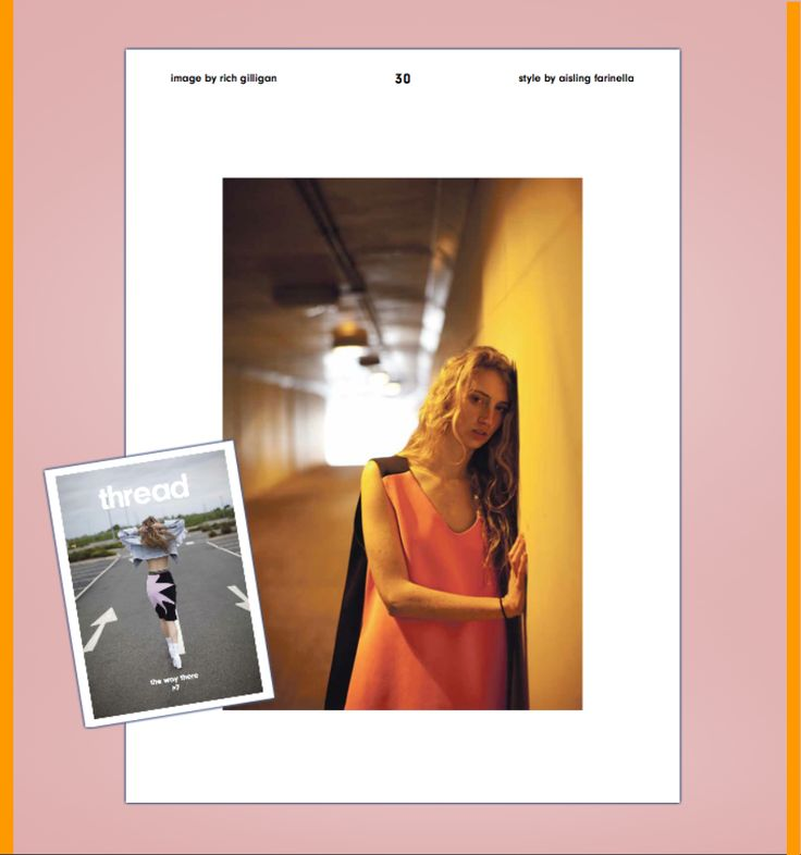 JOANNE HYNES | Cover and Editorial | Thread Magazine | August 2014 | Photo by Rich Gilligan | Styling by Aisling Farinella |