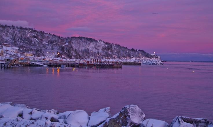 January sunrise .. Tiverton N.S.