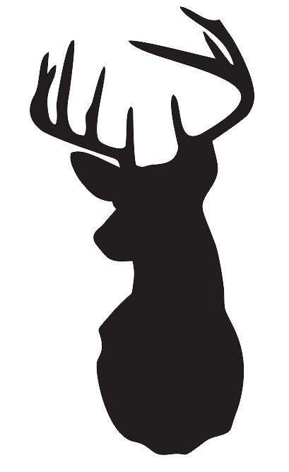 """POCHOIR de tête de cerf/cerf choisir une taille entre 3""""- 20"""" pour la peinture des panneaux bois tissu toile murs meubles Scrapbook Airbrush"""