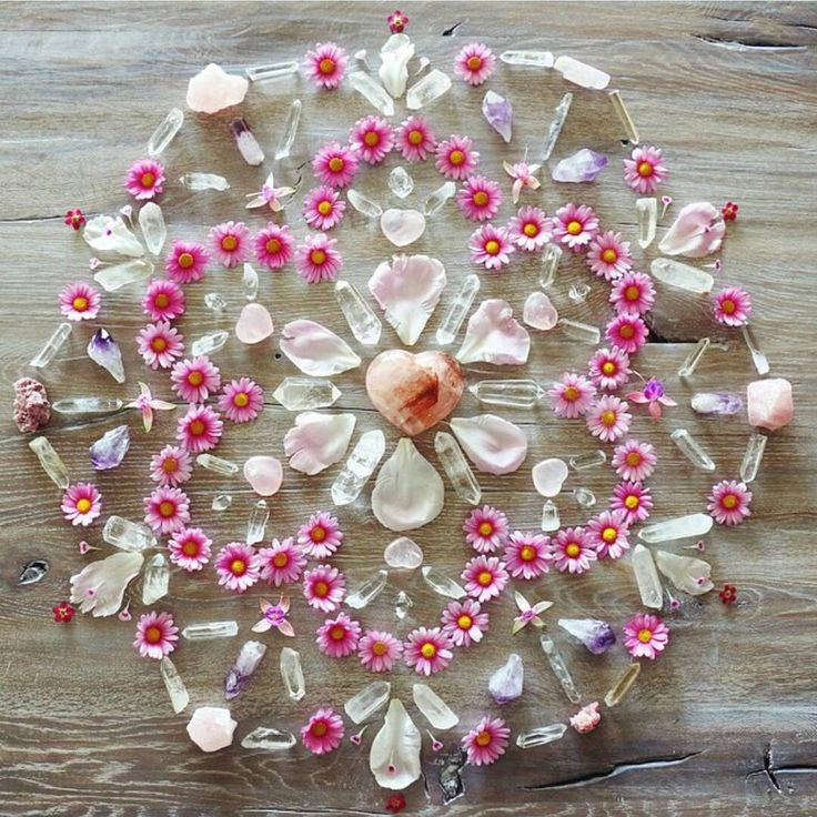 You are your own universe   crystals   healing   stones   earth   flowers   pink   gems   energy   positive