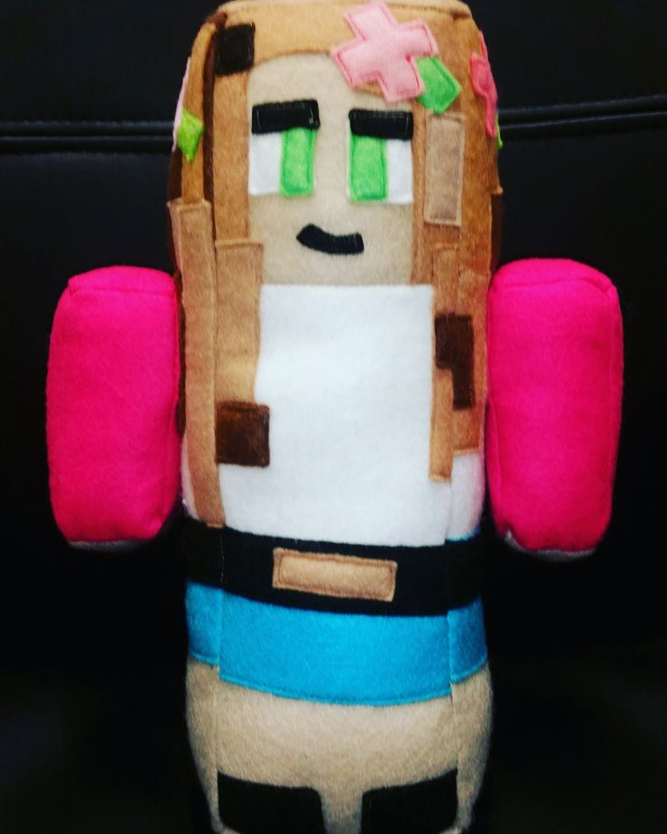 Lil kelly doll from minecraft