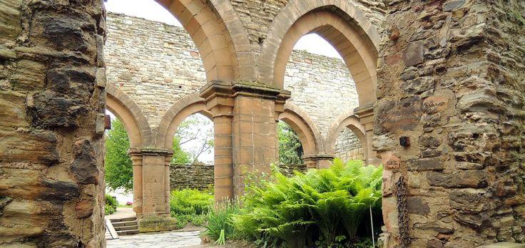 In Memleben an der Straße der Romanik wohnten früher Könige - Reste einer…
