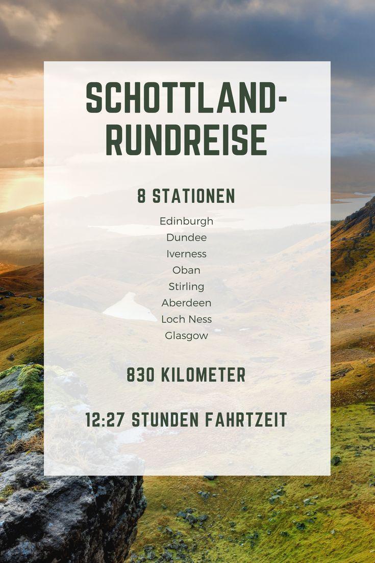 #Glasgow, Loch Ness, #Iverness – eine #Schottlan…