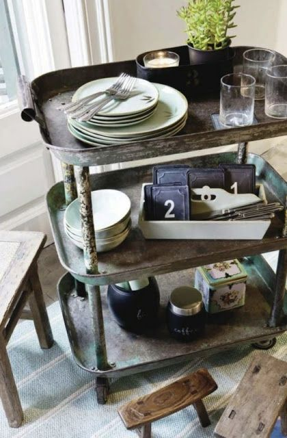 vignette design: Industrial Chic