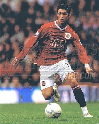 Christian Ronaldo Manchester United soccer kick AIG 8x10 11x14 16x20 photo 399 - Size 11x14 by Your Sports Memorabilia Store. $12.99