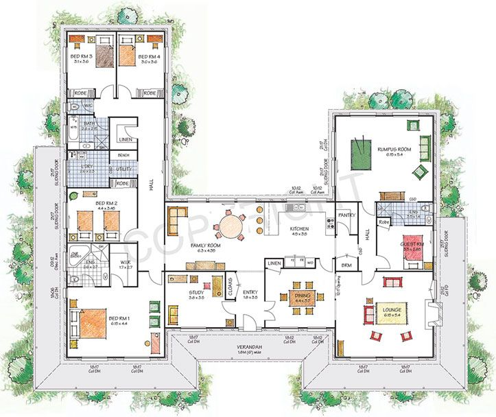 The Castlereagh floor plan - Download a PDF here - Paal Kit Homes offer easy to build steel frame kit homes for the owner builder and have display / sale centres in Sydney NSW, Melbourne VIC, Brisbane QLD, Townsville NTH QLD, Perth WA.