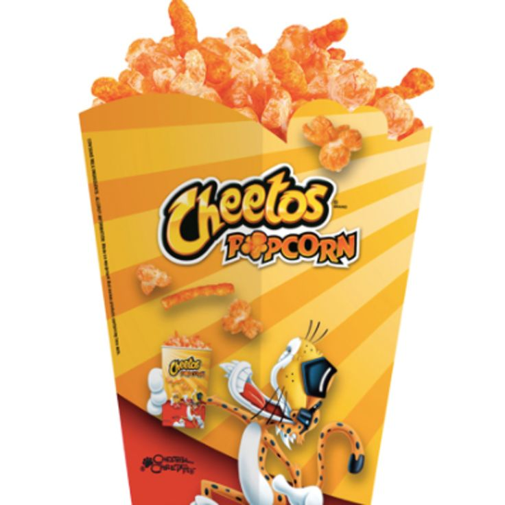 Cheetos Popcorn At Regal Theaters