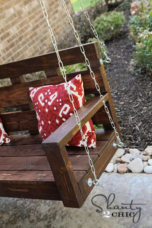 Build your own front porch swing woodworking projects for How to build a porch swing
