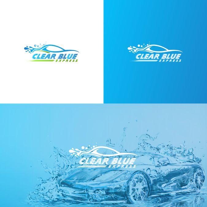 Brand new best of class express car wash needs a powerful attention grabbing logo. by ariyatul
