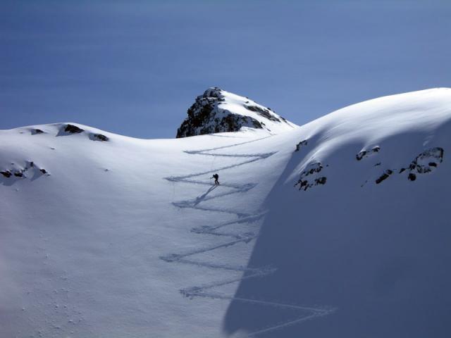 Skialp in Alps Italy - http://www.alefoto.it/photo/gite/Lago-dell-Oro