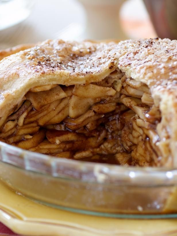 Get The Ultimate Caramel Apple Pie Recipe from Food Network