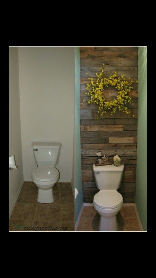 Here's a simple idea for a small remodel of just one part of your bathroom that makes all the difference!