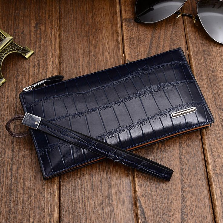 Free shipping  Leisure brand men's hand bag leather wallet long leather handbags men male package hand caught male //Price: $US $12.36 & FREE Shipping //     #fashion