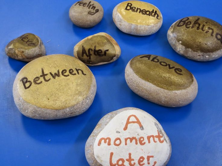I saw this simple idea last week in Honiton Primary School. The children were making the beginning of a story up and used the words on the s...