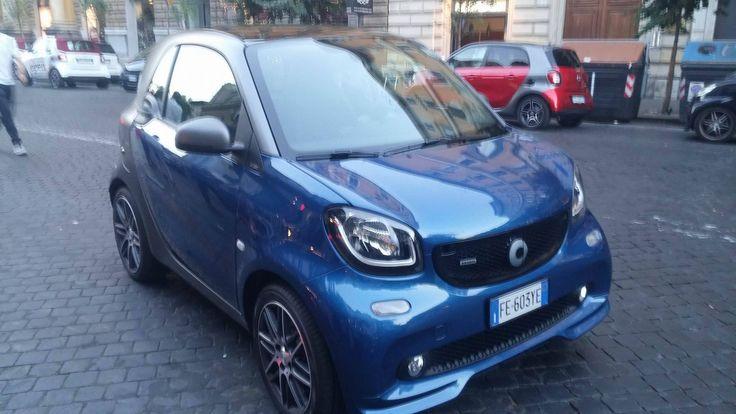 A Roma Presentata la Nuova Smart Brabus   http://www.mipiaceroma.it/notizie/roma-presentata-la-nuova-smart-brabus