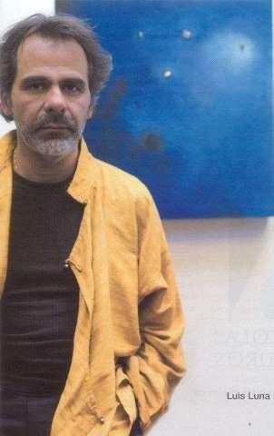 Luis Luna, pintor - Foto: Mauricio Anjel