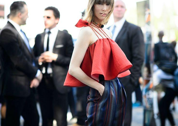 Paris Moda Haftasından İlham Veren Sokak Stilleri / Paris Fashion Week Street Style
