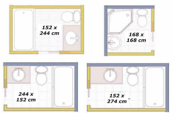 idées d'agencement salle de bain de 3.65 / 2. 8 / 4 mètres carrés