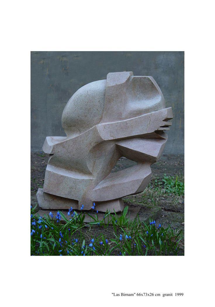 """JANUSZ CZUMACZENKO, """"las Birnam"""", granit"""