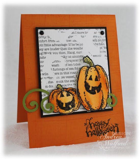 stampin up halloween | Halloween Cards: Stampin Up Halloween Cards