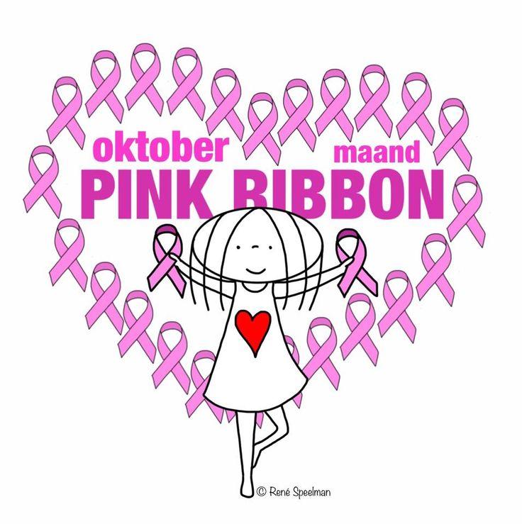 Oktober is Pink Ribbon maand. Sta op tegen borstkanker
