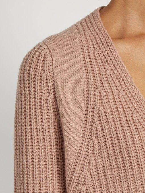 Helmut Lang Cash wool and cashmere-blend sweater