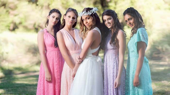 Goddess By Nature Bridesmaids Dresses