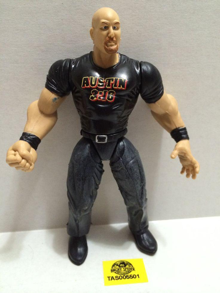 TAS037345 - Vintage Action Figure - WWE WWF Stone Cold Steve Austin