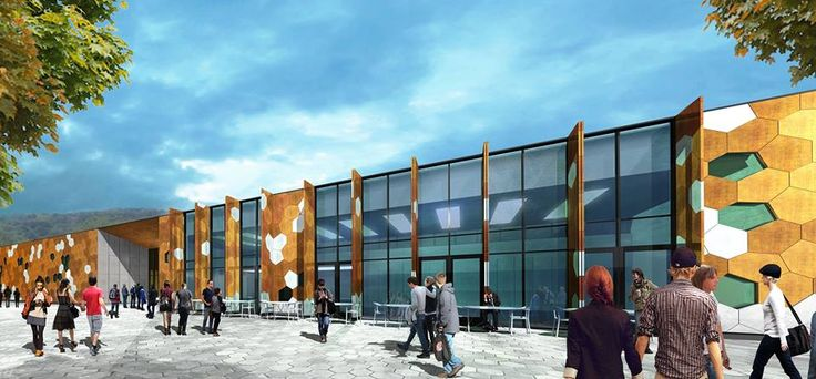 The latest artist impression of The Royal Mint Visitor Centre. Expected to be completed in 2016. More: http://www.royalmint.com/pre-register/the-royal-mint-visitor-centre