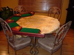 DIY Poker table top