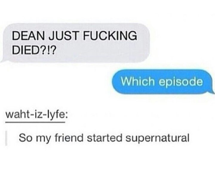 """""""Which episode?"""" I asked in a monotoned voice. """"WHAT DO YOU MEAN?! HE CANT DIE AGAIN!!!"""""""