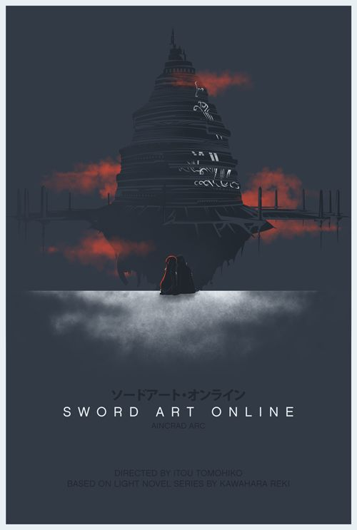 Minimalistic SAO poster.