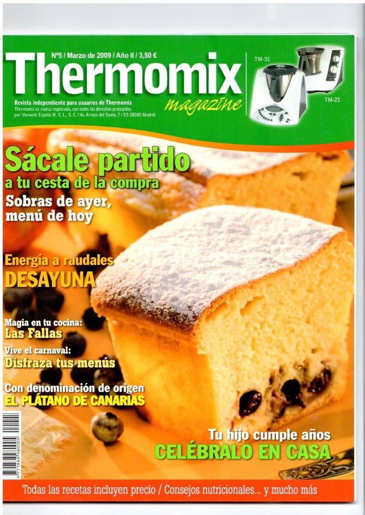 Rev. Thermomix magazine nº 5. Sácale partido a tu cesta de la compra