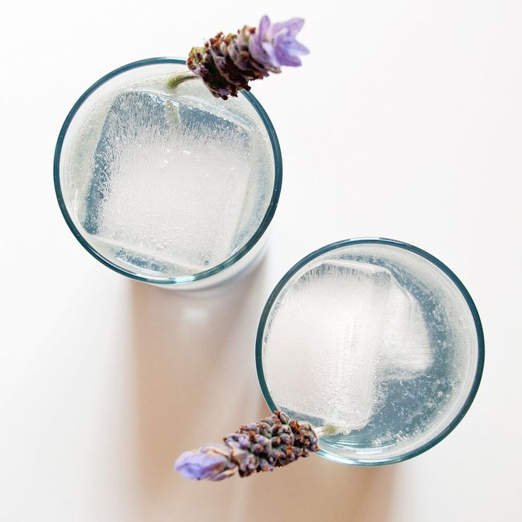 Toast to Spring Flowers With a Lavender Collins Cocktail: April showers may bring May flowers, but I'm an impatient lady, as I want the world to be in full bloom already.