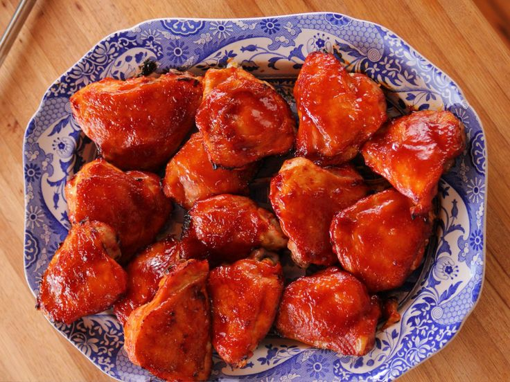 Oven-Roasted BBQ Chicken recipe from Ree Drummond via Food Network