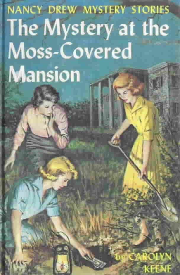 Loved reading Nancy Drew mysteries as a kid. I would always spend my allowance on a new book...and I still have them all.
