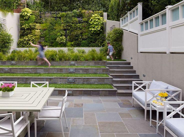 Garden Ideas On Two Levels 10 best garden \ steps \ corten images on pinterest
